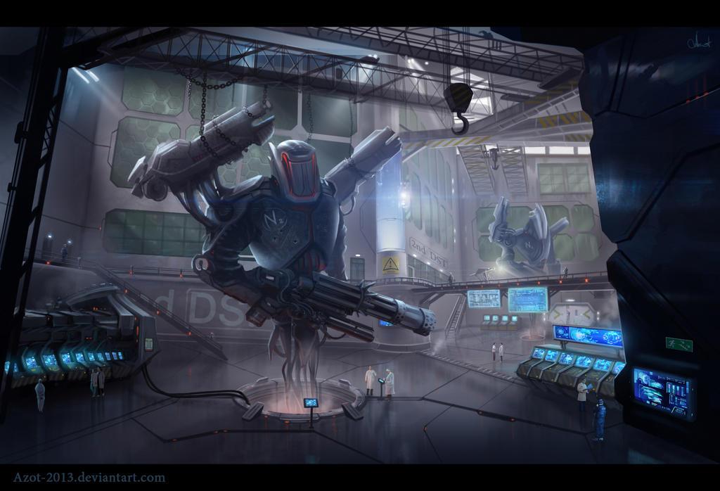 Robot`s laboratory