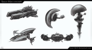 Space Ships concepts