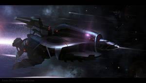 Speedpaint Rocket-Spaceship
