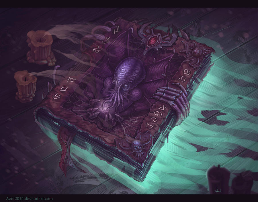 Cthulhu`s Book by Azot2017