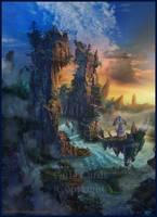 Mountain Gates by Azot2019