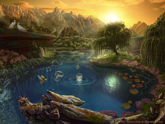 Lake by Azot2019