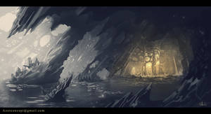 Ice Cave sketch