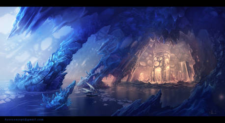 Ice Cave by Azot2019