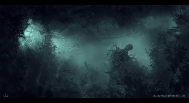 Lost Ship sketch