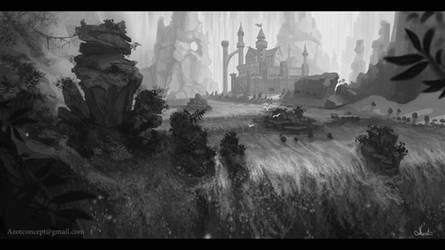 Fantasy Castle by Azot2019