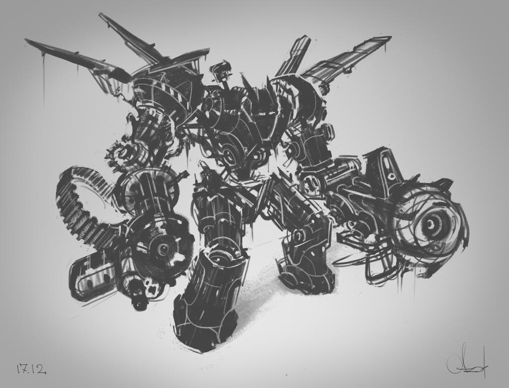 Transformer`s sketch by Azot2017