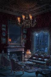 Vampire`s Room by Azot2019