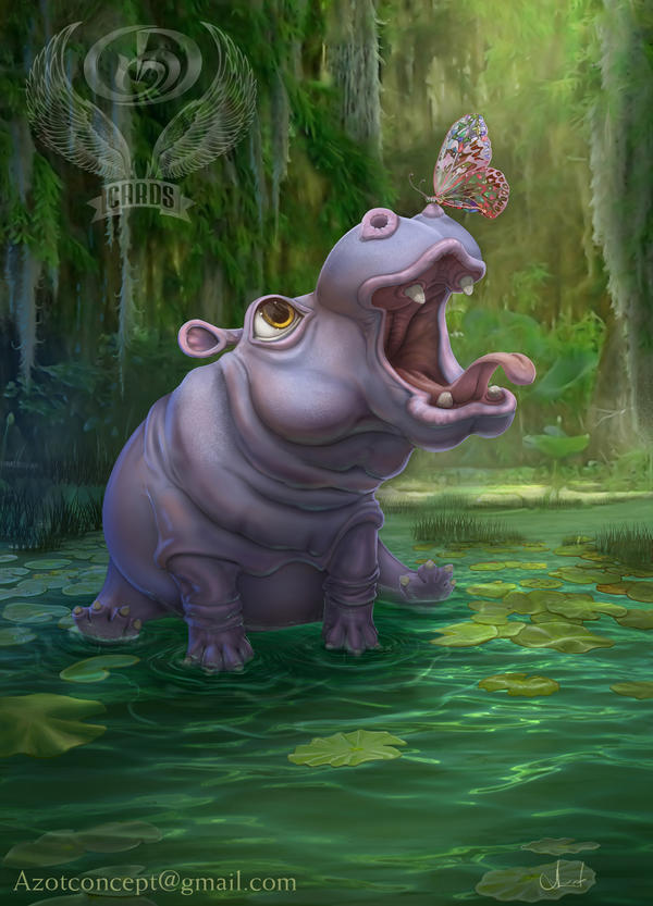 Game Card Hippo by Azot2017