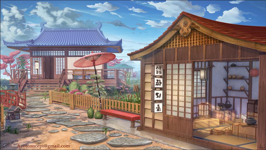 Japanese Kitchen by Azot2018