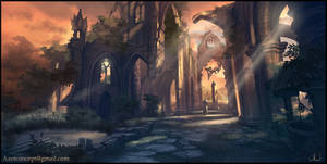 Sacred Ruins by Azot2019