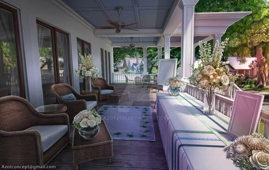 Porch Reception