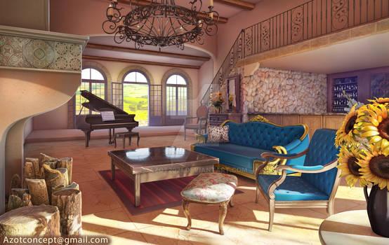 Posh Villa Interior
