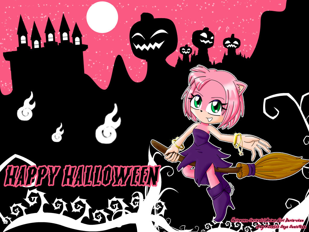 WP Halloween - AMY - by AnimaGirlDaria-chan