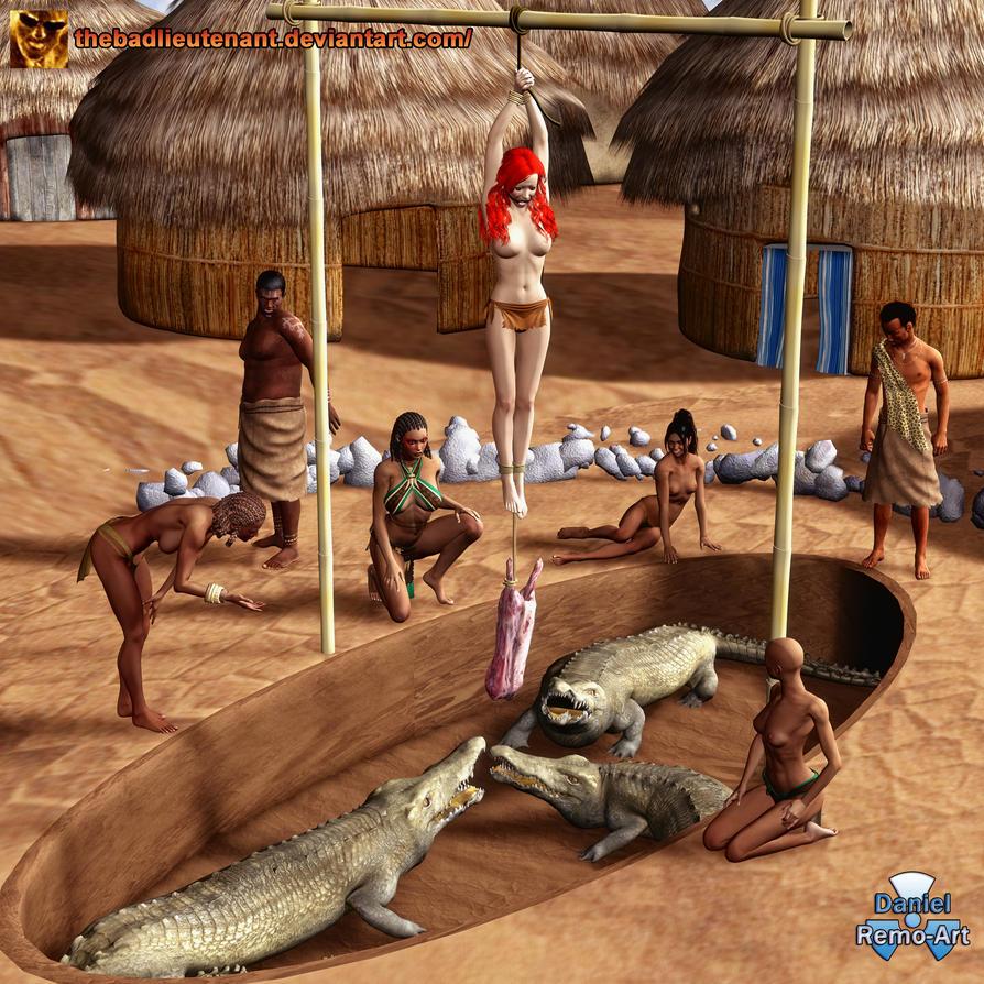 Tasha of the Jungle ...Gator Bait by TheBadLieutenant