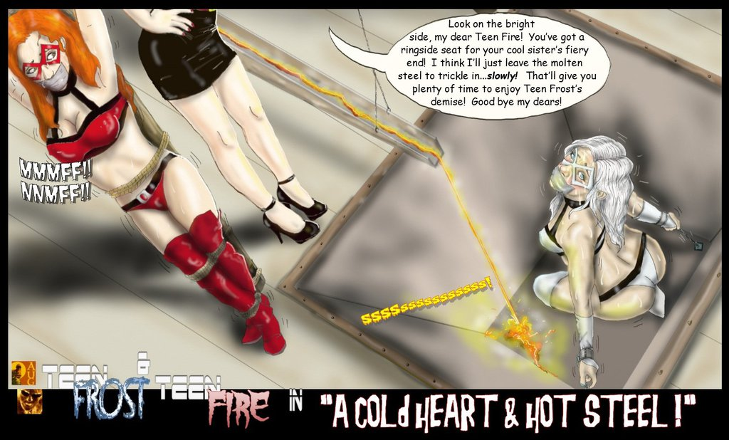Fire and Frost Cold Heart Hot Steel by TheBadLieutenant