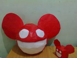 Deadmau5 papercraft ~ cubecraft