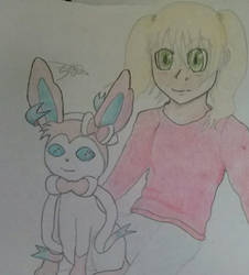 Angy and Sylveon