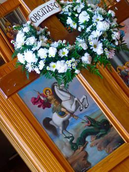 St. George on Pascha