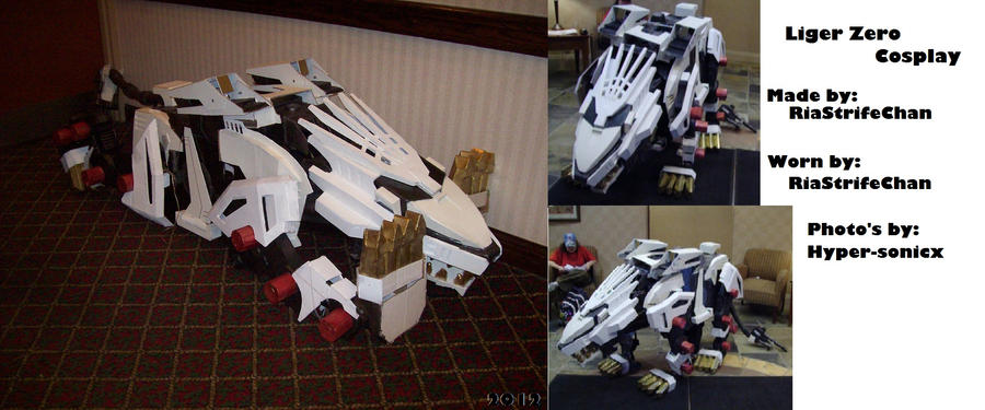 100% Finished Liger Zero Cosplay by RiaStrifeChan