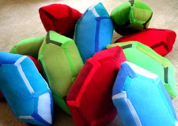 Rupee Pillows by Kikera