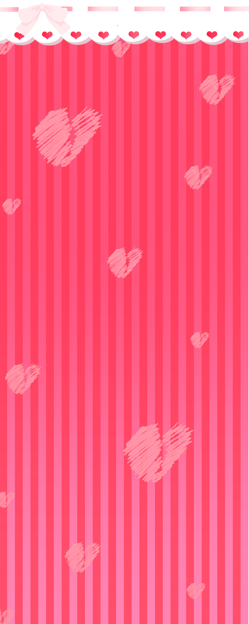 [Custom Box Background] Valentine's Day hearts by IceCreamKari