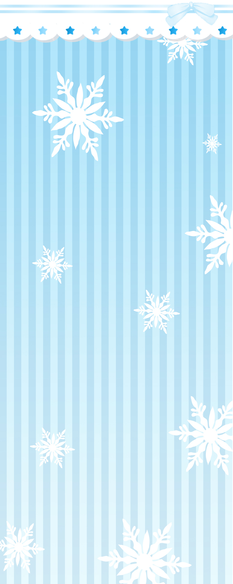 [Custom Box Background] Winter Snow by IceCreamKari
