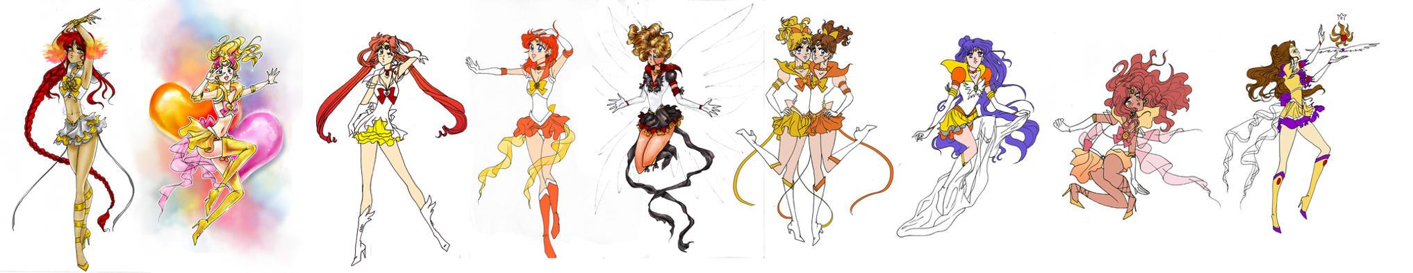 The Sailor Sun Project (update June 23rd 2013) by goddessredd