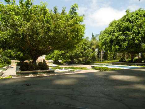 The Gardens of Hassan tower