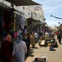 Life in Souk of Rabat