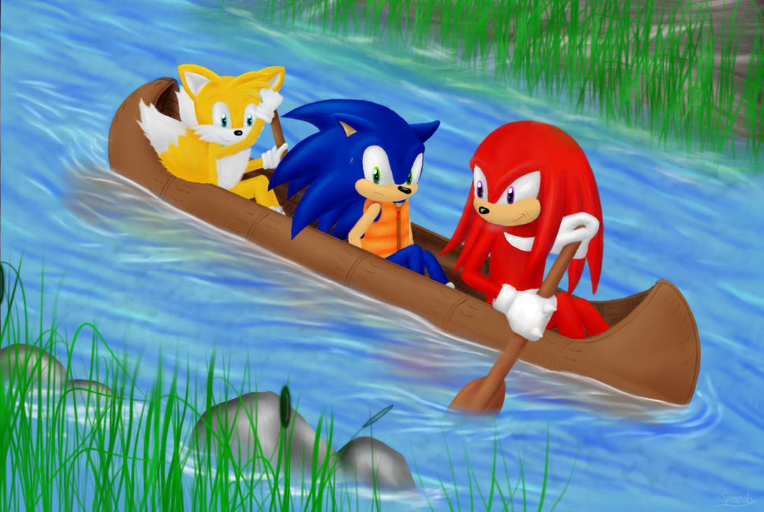 Canoe Trip by Speedy1236