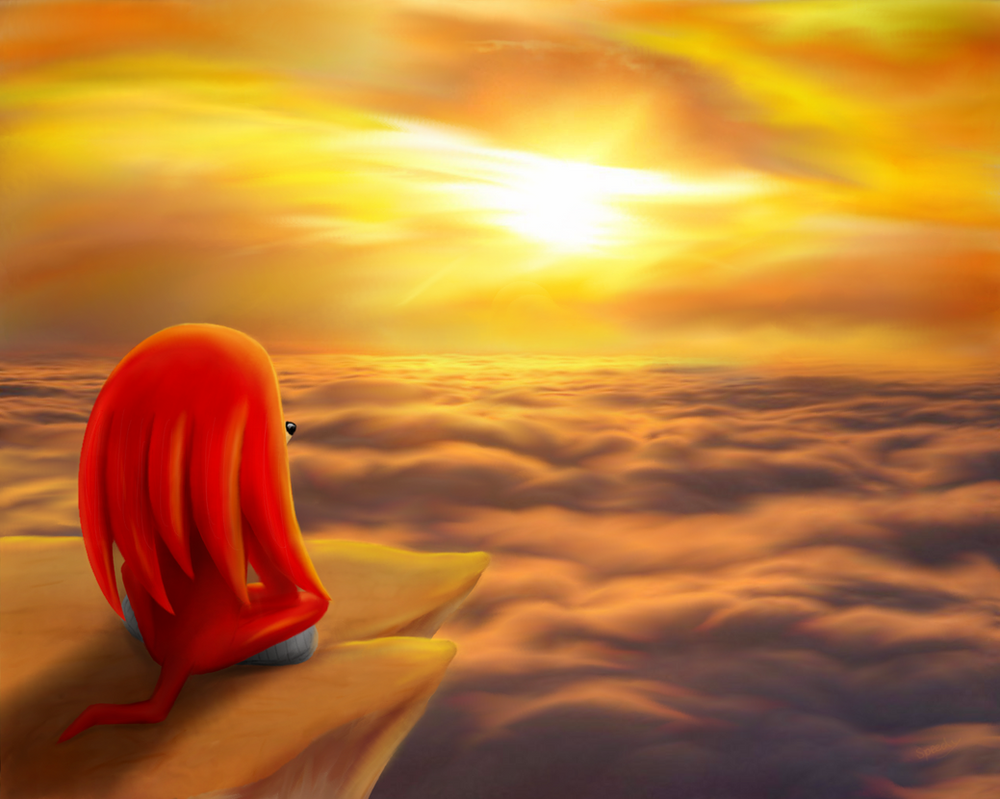 Sky Beach Sunset by Speedy1236