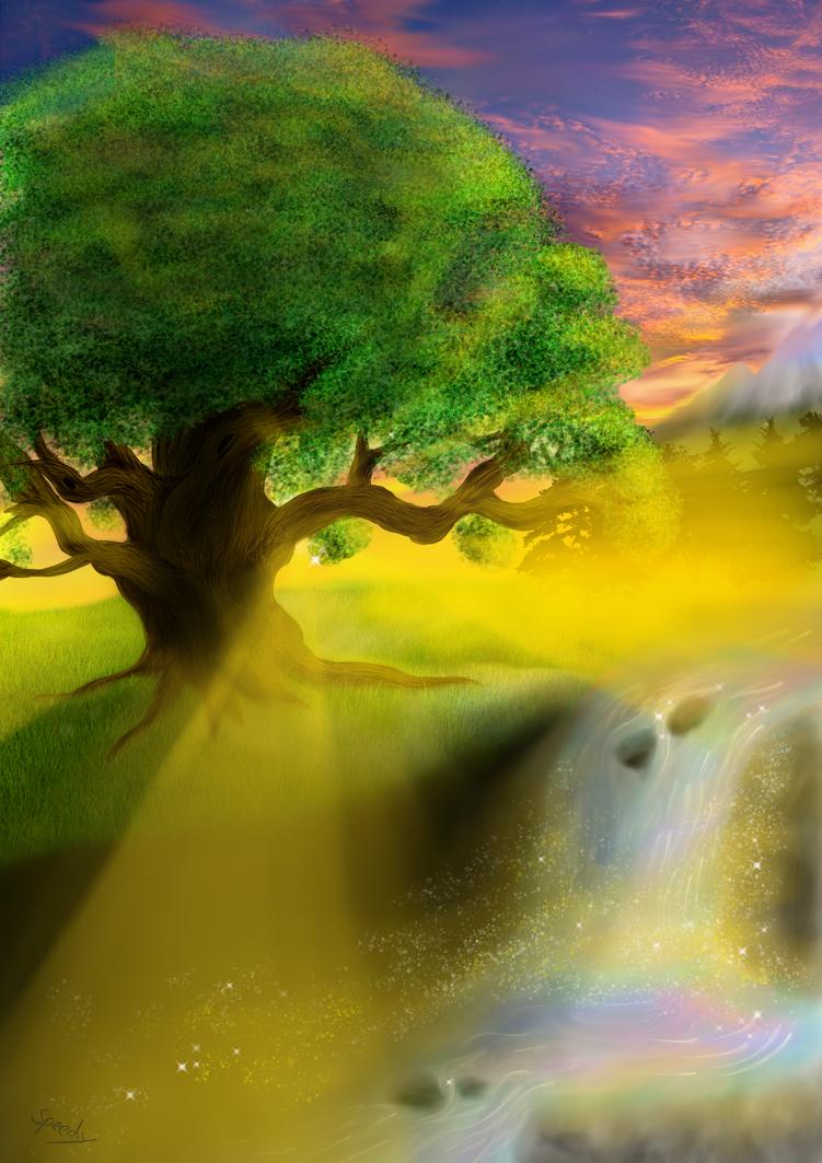 Ancient Oak by Speedy1236