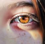 Eye study by Terashiima