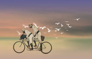 Inspired by Duy Huyh - Cyclists by therealdoeth