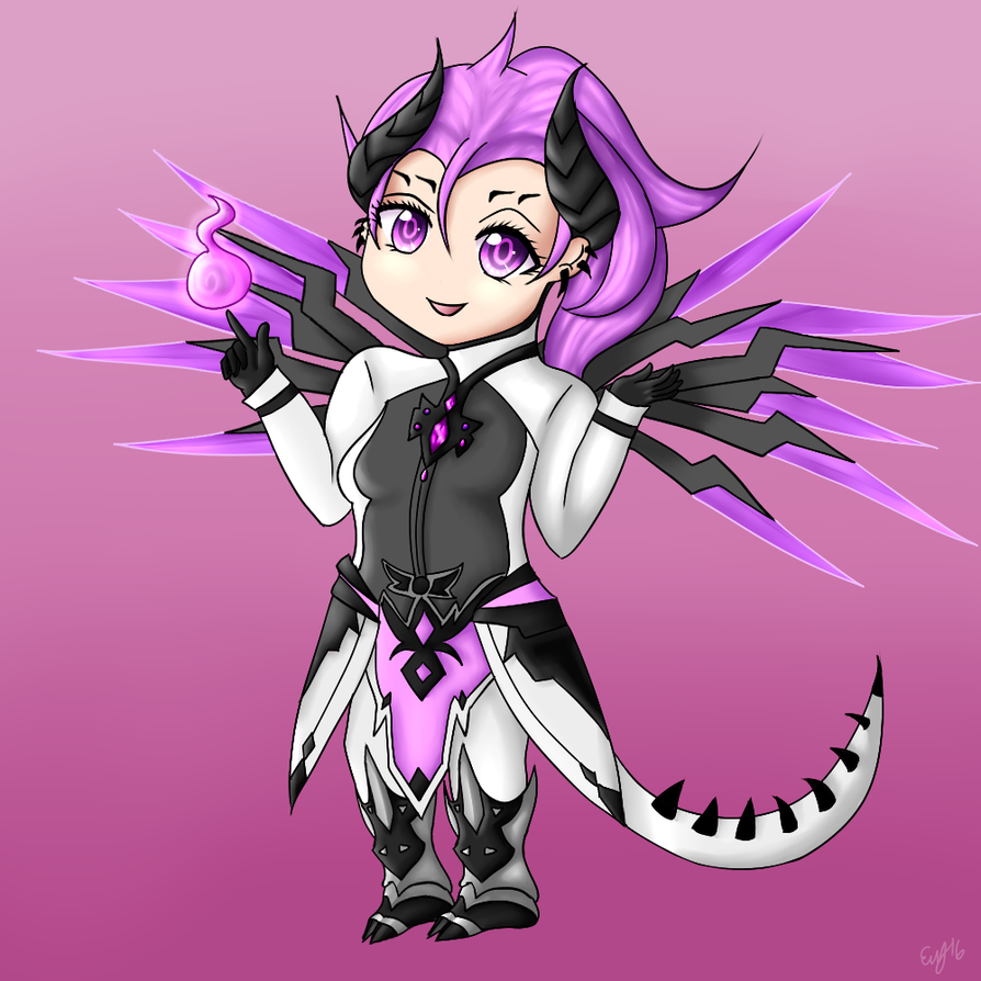 Imp mercy from overwatch by theemychan on deviantart
