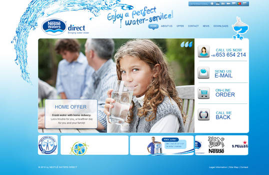 Nestle waters direct Poland
