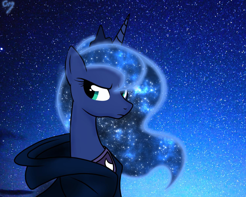 Night Star Luna by BlackBassCry