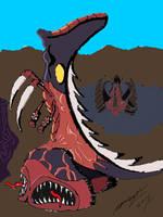Emperador Amebico con infestacion Zerg by Goncen