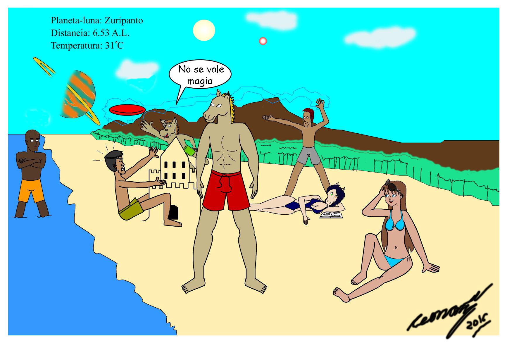 Art-jam Playa Ponyman y sus agentes by Goncen