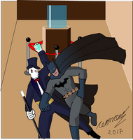 Fantomas Vs Batman by Goncen