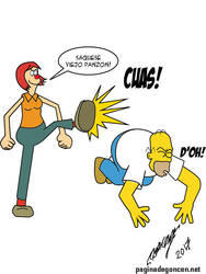 Homero Vs Borola