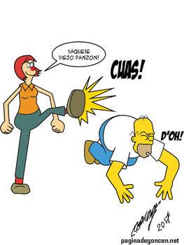 Homero Vs Borola