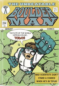 Old Comic: Boulder Man