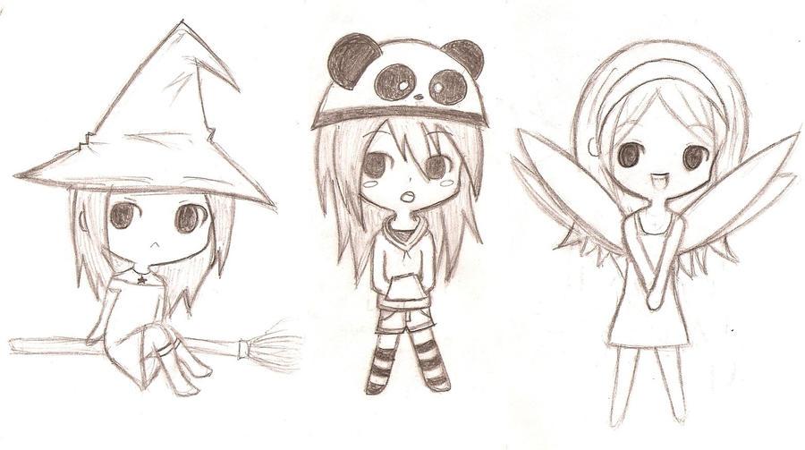 Anime Girls Para Dibujar
