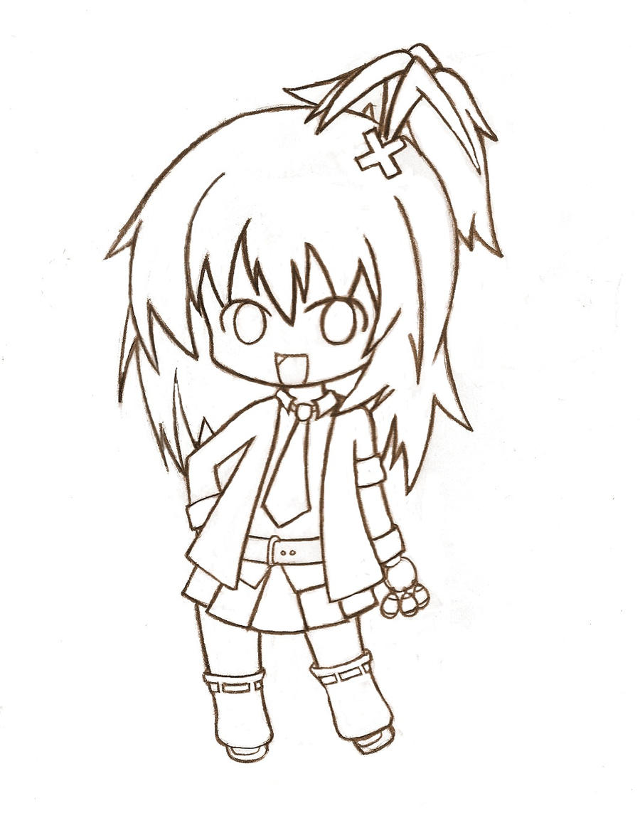 Anime Drawings in Pencil Chibi Boy images - Hdimagelib