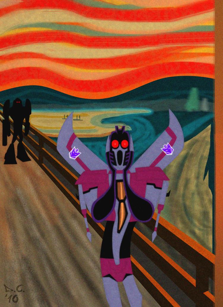 TFA - The Starscream by DarioCld