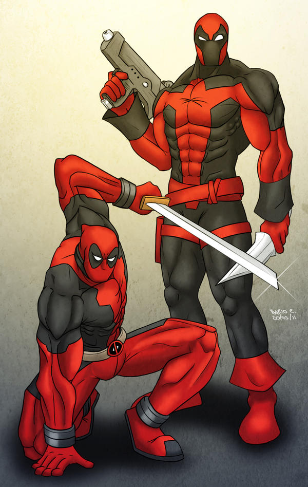 Deadpool Shattered Dimension by DarioCld on DeviantArt