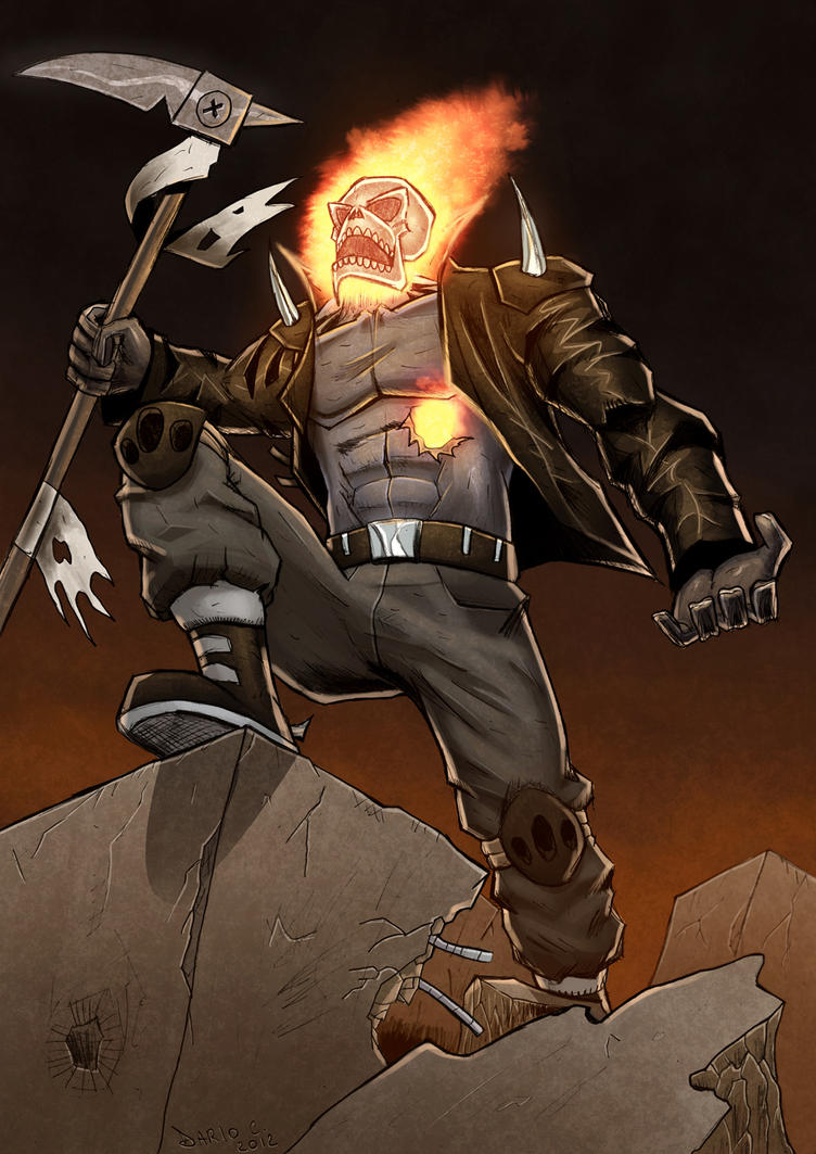 Humor - Page 5 Ghost_rider_revolution_by_dariocld-d594n7d