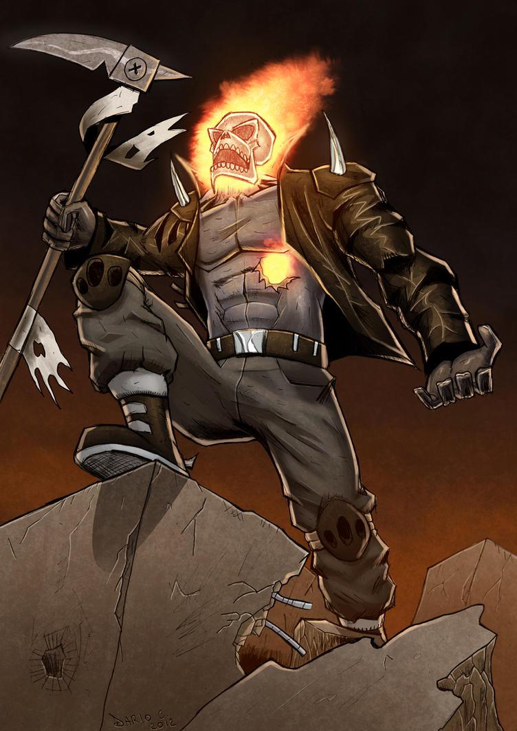 Ghost Rider Revolution by DarioCld